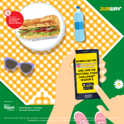[Subway Singapore] Morning walks with the family and a picnic sounds like the perfect start to your Sunday.