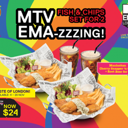 [The Manhattan FISH MARKET Singapore] Catch the excitement of the 2017 MTV EMAs with The Manhattan FISH MARKET!