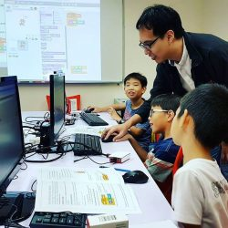 [ADAM KHOO LEARNING CENTRE] It's day 2 of our Scratch Beginner workshop for our budding coders who learn how to create their own