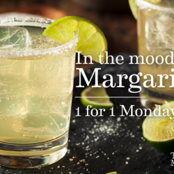 [Table Manners] Don't bring your blues over to Tuesday - drown it and kill it with our margaritas, 1-for-1 today!