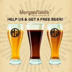 [Morganfield's] x OPENING GIVEAWAY - FREE BEER x Morganfield's has opened at Orchard Central, Level 11!
