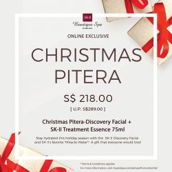 [SK-II Boutique Spa] Christmas is coming soon, and so are all the promotions!