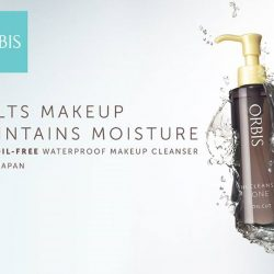 [ORBIS] We know that not removing your makeup at the end of the day is a major no-no.