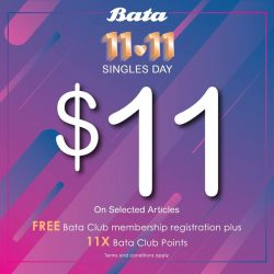 [Bata Shoe Singapore] Treat yo'self this 11/11!