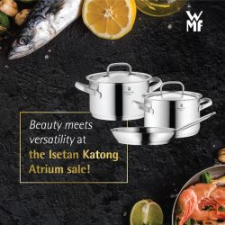 [WMF] Be wowed by beauty and function this Xmas at our Isetan Katong Atrium Sales happening from 27 November!