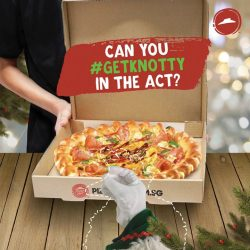[Pizza Hut Singapore] Hey ho, folks – it's me, Knotty!