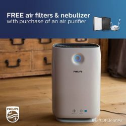[Philips] Prevent allergies from acting up and lower the risk of asthma attacks with our GiftOfCleanAir promo!