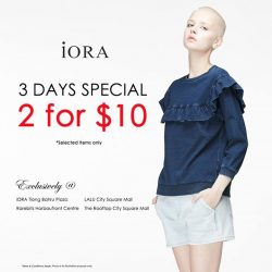 [IORA] 2 for $10 promo starts tomorrow!