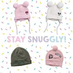 [Fox Fashion Singapore] Keep your kid's head toasty with our adorable beanies when you go on that big year-end trip!