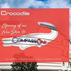 [Crocodile] New store opening at Compass One (formerly known as Compass Point), and we're getting closer to you.