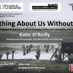 [British Council] Nothing About Us Without Us – What Can Singapore Learn from Three Decades of the UK's Disability Arts and Culture?