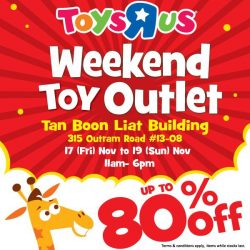 """[Babies'R'Us] Last day for the Toys""""R""""Us Weekend Outlet!"""