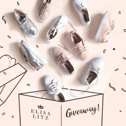 [Elisa Litz] We just launch new matchy Little Elisa Litz kids shoes!