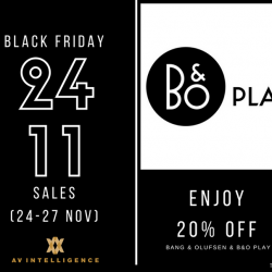 [AV Intelligence] COUNTING DOWN TO BLACK FRIDAY.