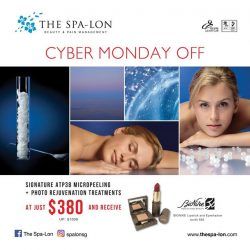 [The Spa-Lon] Cap off your Cyber Monday with a once in a lifetime deal with The Spa-lon!