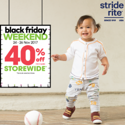 [Stride Rite/Petit Bateau] Stride Rite BLACK FRIDAY WEEKEND SALE including NEW ARRIVALS!