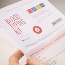 [My Type Store] Knowing your blood type is the first step to reaping the benefits the Blood Type Diet has to offer!