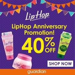 [Guardian] LipHop celebrates its anniversary, and you take home the gift!