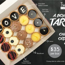 [Twelve Cupcakes] Get these exquisite tarts while they're here!
