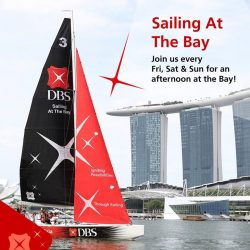 [DBS Bank] Keen to experience sailing along Marina Bay?