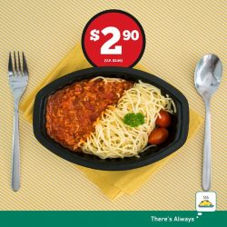 [7-Eleven Singapore] If you haven't had the chance to try our improved 7-Select Chicken Bolognaise, now's the time!