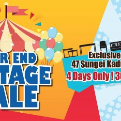 [Novena] Exclusively at 47 Sungei Kadut Ave, the Year End Tentage Sale is happening from 30 Nov - 3 Dec!
