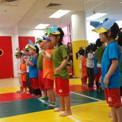 [MindChamps Medical] Champs at MindChamps PreSchool @ Leisure Park Kallang had an Art Presentation where they showcased the many things we can do