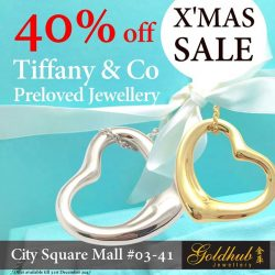 [Gold Hub Jewellery 金库] 40% off Tiffany & Co pre-loved jewellery for this Christmas!