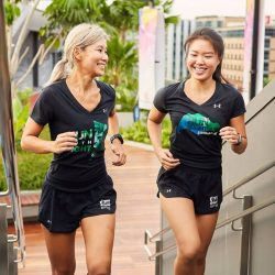 [Under Armour Singapore] As you ease off your training for the Standard Chartered Singapore Marathon on 3 Dec (Sun), ensure you are mentally