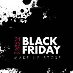 [MAKE UP STORE] Don't miss it 😜 Our BlackFriday sale has all the deals you've been waiting for