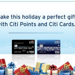 [Citibank ATM] Book flight tickets to your favourite destinations for as low as S$47* with your Citi Card!