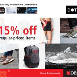 [DOT Singapore] DOT x DBS - Enjoy 15% off regular priced items for DBS/POSB cardmembers.