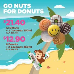 [Dunkin' Donuts Singapore] Keep calm and go coconuts over our latest deals!