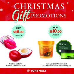 [Tony Moly Singapore] Get ready to shop for Christmas XD!