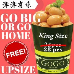 [GoGo Franks] Do drop by at GoGo Franks outlets island-wide to enjoy this great deal now!