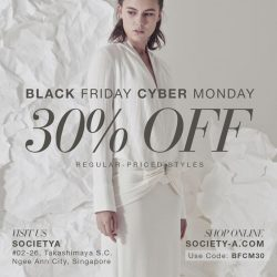 [SocietyA - Shoes & Accessories Lounge] Brace yourselves, Black Friday and Cyber Monday SALE is here!