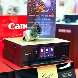 [Best Denki] Be dazzled with our latest pairing of perfect photos and printouts with the PIXMA TS9170 and Canon EOS M100!