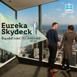 [Changi Recommends] Located at Level 88, Eureka Skydeck is Melbourne's must-visit attraction.