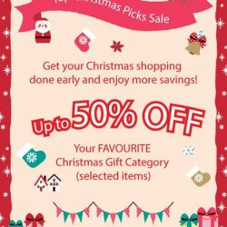 [Sanrio Gift Gate] We know your favorite Christmas gift products and that is why we are giving a up to 50% off these