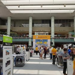 [Gain City] Here we are at the Marina Square Atrium where all of your favourite consumer electronics brands are on offer!