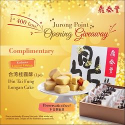 [Din Tai Fung] We're excited to serve you again at Jurong Point!