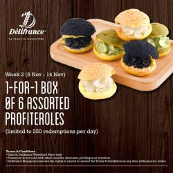 [Delifrance Singapore] Don't miss out on this week's Weekly Treats offer at our Wheelock Place's outlet!