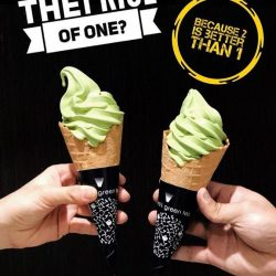 [Nana's Green Tea] Bring your buddy to Nana's Green Tea to enjoy our 1-FOR-1 Matcha Softserve promotion!