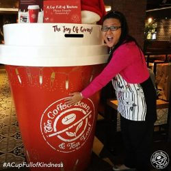 [The Coffee Bean & Tea Leaf® - Singapore] It made them jump for joy.