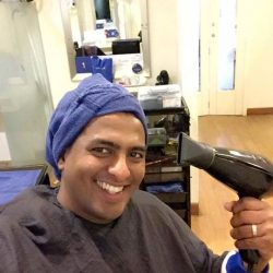 """[TrichoKare] Celebrity DJ, Anand Karapaya visited us for a hair treatment and was impressed with the results: """"NO MORE DEAD SKIN"""