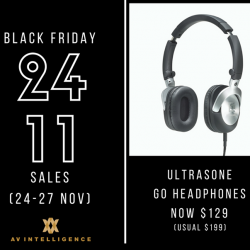 [AV Intelligence] Here is a real steal for Black Friday!