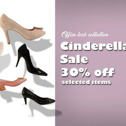[Gripz] Get your Cinderella size at 30% off selected items.