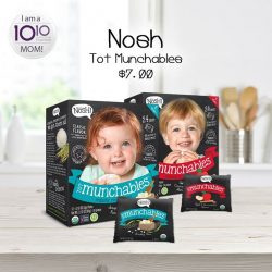 [10 10 Mother & Child Essentials] Today's product of the week is Nosh Tot Munchables!