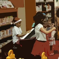 [SEIMPI SCHOOL OF MUSIC] Join us this Saturday for an afternoon of Music performances at the Cheng San Library Activity Room (Hougang Mall) from