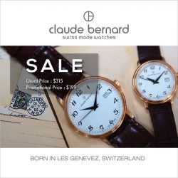 [Claude Bernard] Running out of gift ideas for the Christmas season?